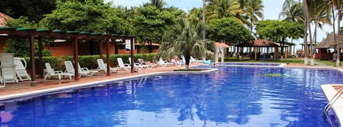 hotel de playa pacific paradise, costa del sol, el salvador, todo incluido
