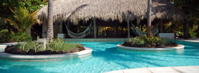 la cocotera eco resort de playa, hotel todo incluido, el salvador
