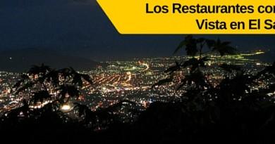 los restaurantes con la mejor vista de el salvador