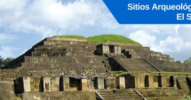 sitios arqueologicos de el salvador: tazumal, san andres, joya de ceren, cihuatan, casa blanca, quelepa
