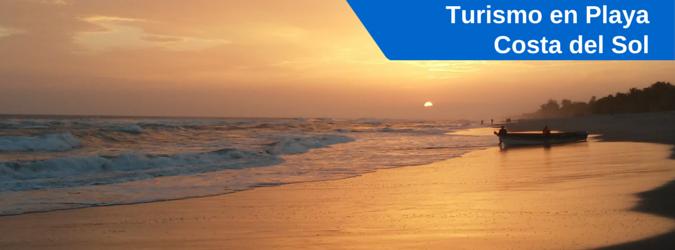 turismo en playa costa del sol, el salvador