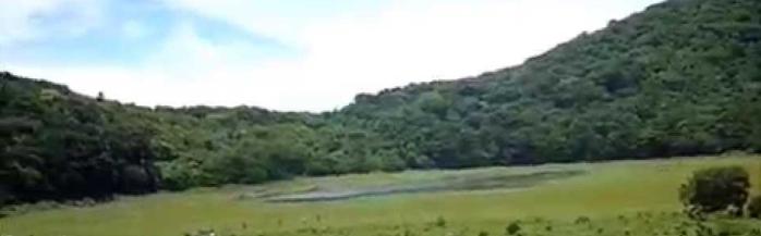 laguna de las ranas o laguna seca, juayua, el salvador