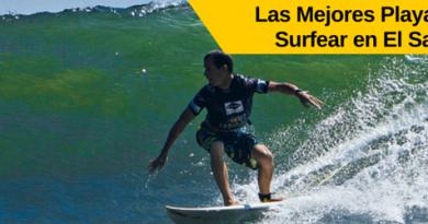 las mejores playas para surfear en el salvador