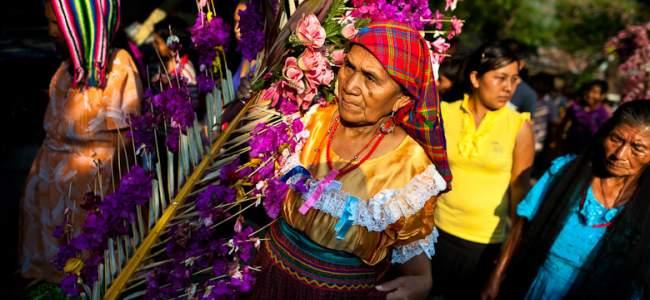 panchas, traje tipico de panchimalco, el salvador