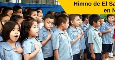 Himno de El Salvador en Nahuatl, Himno nacional de El Salvador en Nahuat