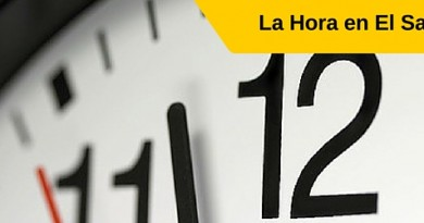 Hora en el Salvador, Hora en San Salvador, Que hora es en San Salvador