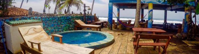 Hotel Olas Permanentes, Playa La Libertad, El Salvador