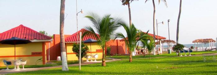 Hotel Tropiclub, Playa El Cuco, El Salvador