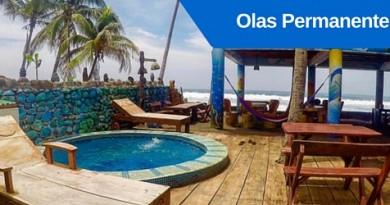 Hotel Olas Permanentes, Playa el Zonte, El Salvador