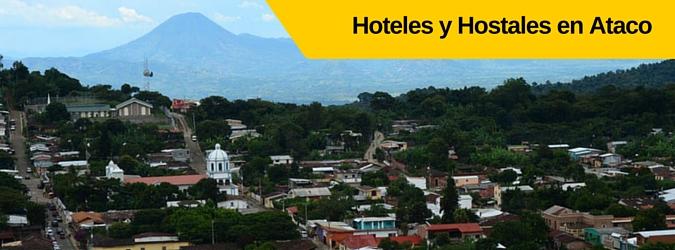 Hoteles, Hostales y Cabañas en Concepción de Ataco, El Salvador