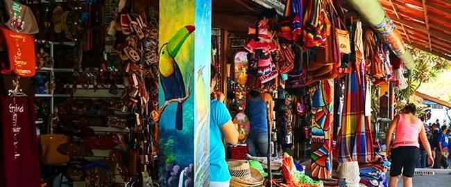 mercado de artesanias, atractivo turistico de el salvador