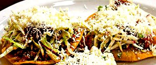 enchiladas, comida tipica de el salvador