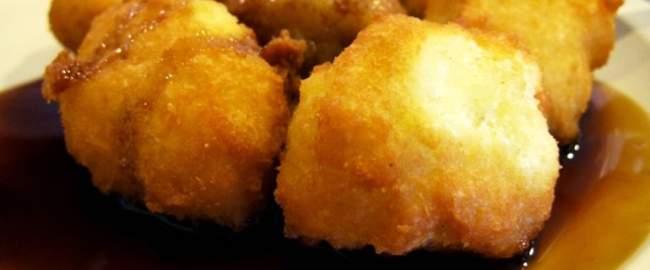 nuegados, comida tipica de el salvador