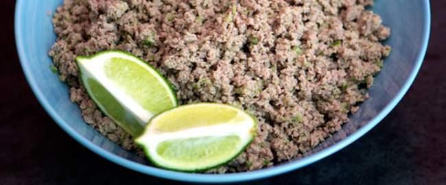 salpicon, comida tipica de el salvador