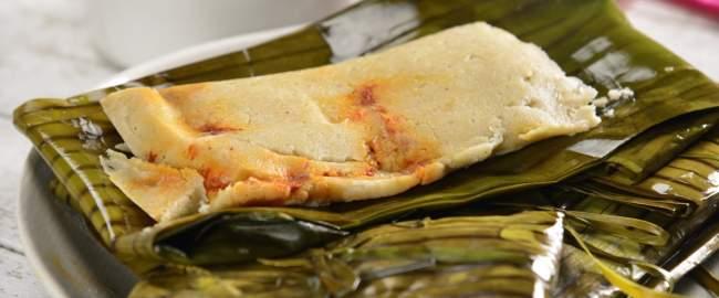 tamales, comida tipica de el salvador