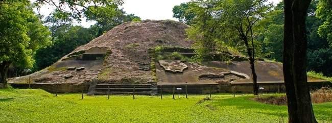 sitio arqueologico casablanca, el salvador