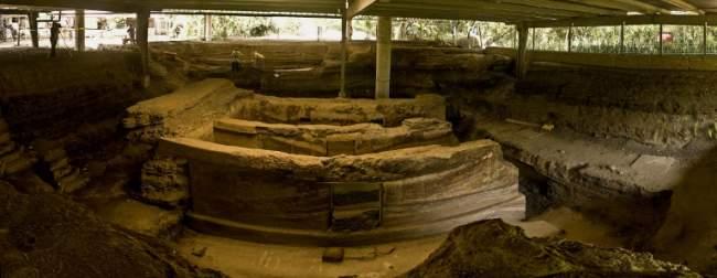 sitio arqueologico joya de ceren, el salvador