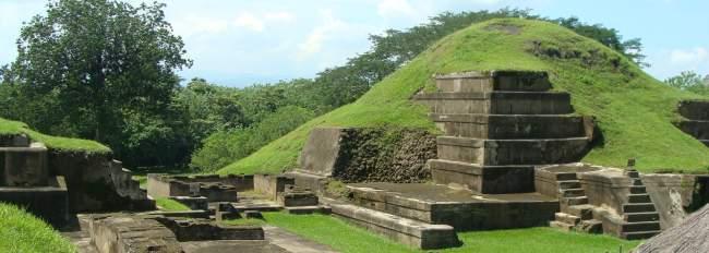 sitio arqueológico san andres, el salvador