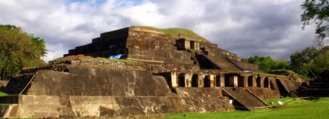 sitio arqueológico tazumal, el salvador