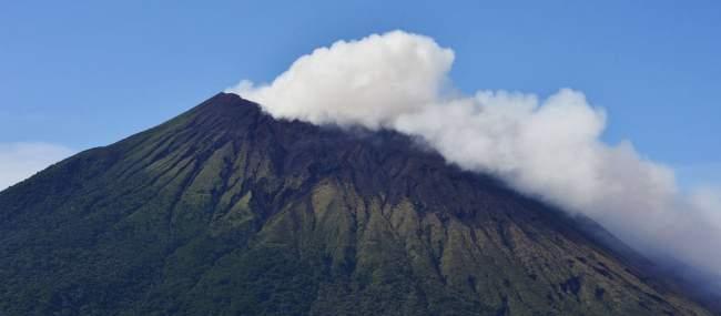 volcan chaparrastique, san miguel, el salvador