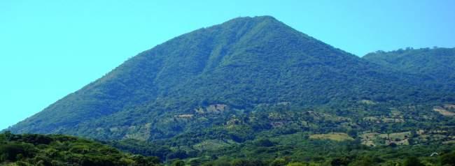 volcán de conchagua, el salvador