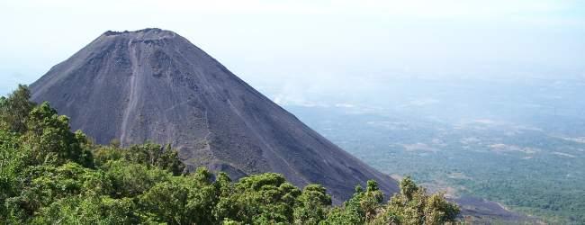 volcán de izalco, el salvador