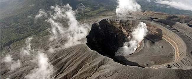 volcan de santa ana - ilamatepec, el salvador