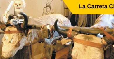la carreta chillona o carreta bruja, leyenda salvadoreña