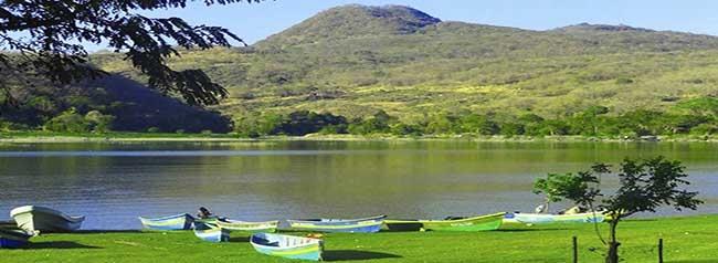 lago de guija, el salvador