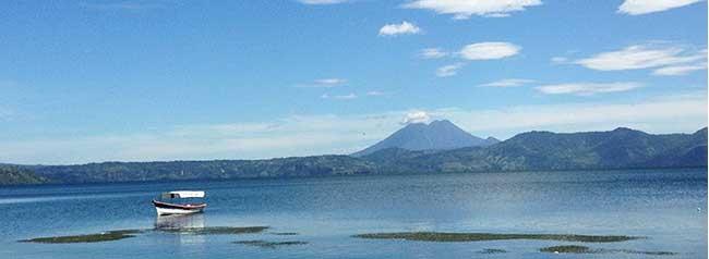 lago de ilopango, el salvador