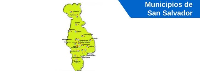 municipios de san salvador