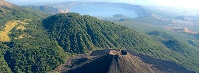 complejo los volcanes, lugar turistico de el salvador
