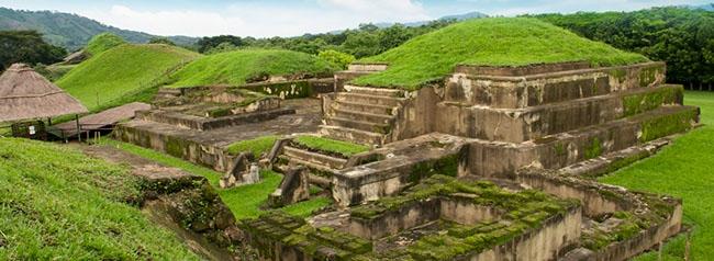 sitios arqueologicos, lugar turistico de el salvador