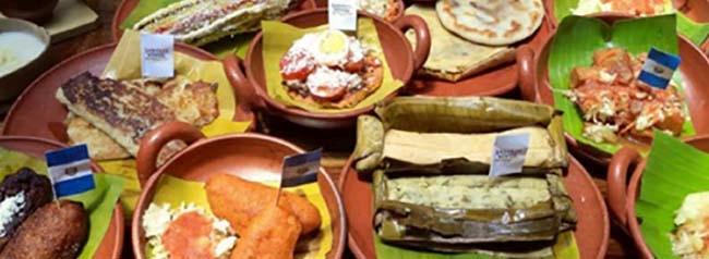 comida de maiz tradicional de el salvador