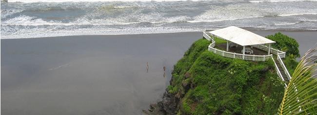 el cuco, playa para surf, el salvador