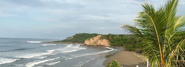punta mango, playa para surf, el salvador