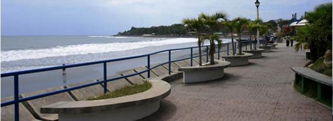 punta roca, playa para surf, el salvador