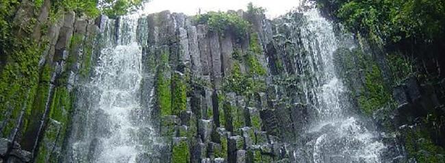 cascada los tercios, lugar turistico de el salvador