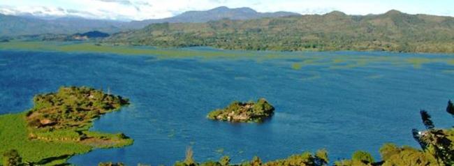 lago de suchitlan, lugar turistico de el salvador