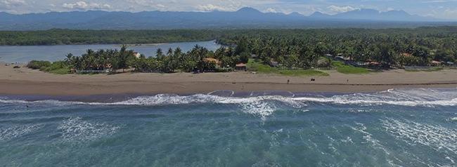playa costa azul, lugar turistico de el salvador