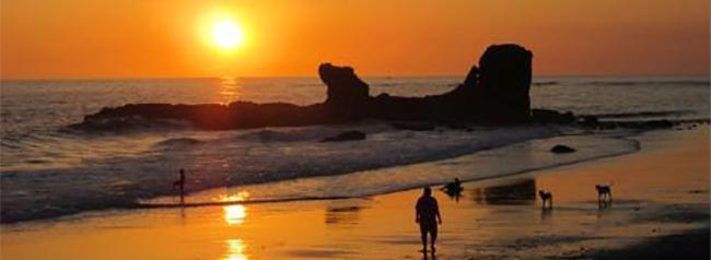 playa el tunco, lugar turistico de el salvador