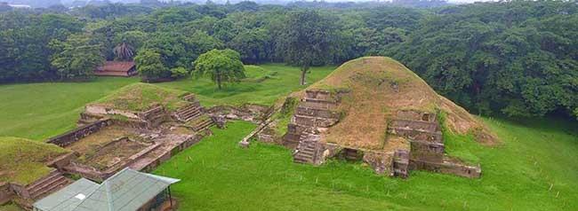 sitio arqueologico san andres, lugar turistico de el salvador