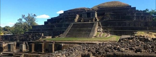 tazumal, lugar turistico de el salvador