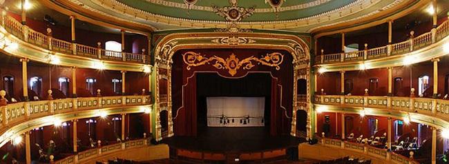 teatro de santa ana, lugar turistico de el salvador