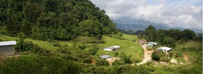 el trifinio, lugar turistico de el salvador