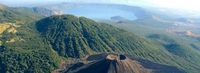 volcan de izalco, lugar turistico de el salvador