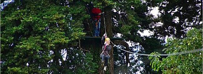 canopy en apaneca, turismo de aventura, el salvador