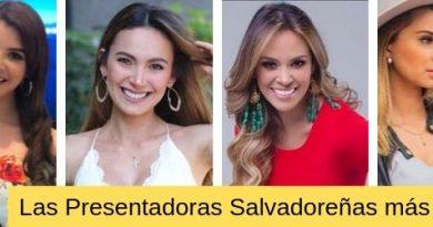 las presentadoras mas bonitas de el salvador