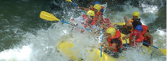 rafting, turismo extremo, el salvador