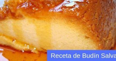 receta de budin salvadoreño